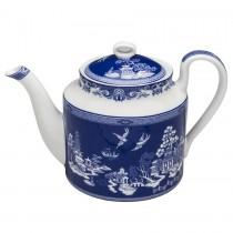 Blue Willow Bone China Teapot