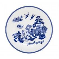 Blue Willow Bone China Blue/White Salad Plates, Set of 4