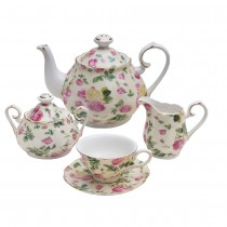 Rose Chintz Bouquet 11 Piece Teaset